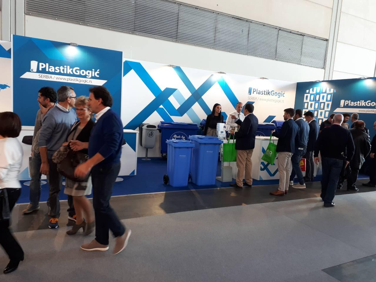 Kompanija Plastik Gogić na međunarodnom sajmu zelene tehnologije - Ecomondo u Italiji