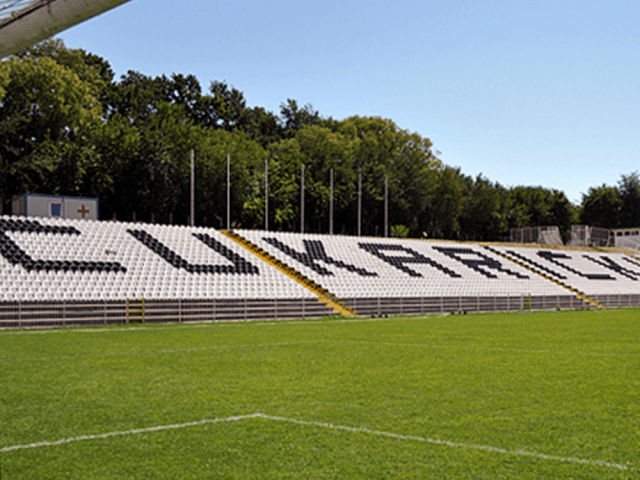 Our chairs at the stadium FK Čukarički
