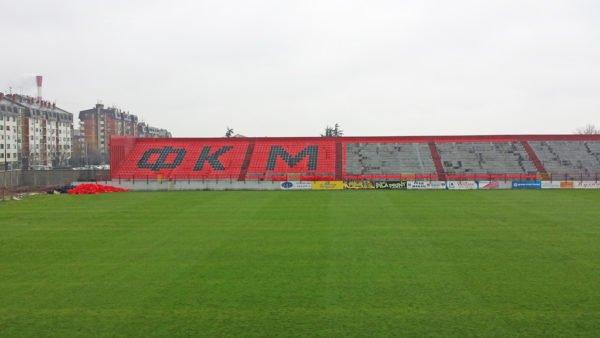 """Stadionske stolice Standard i na istočnoj tribini FK """"Mačva"""""""