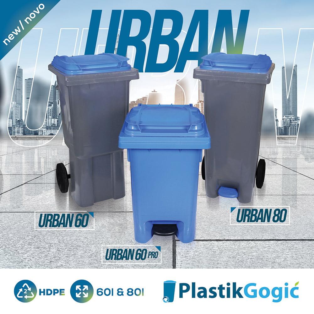 New models of Plastik Gogić waste bins