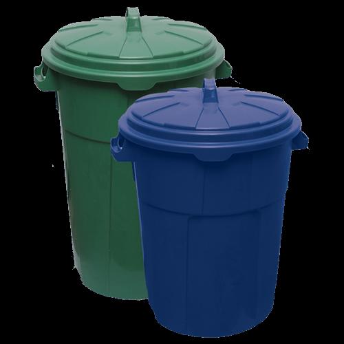 Waste bin Duo 120l, 90l
