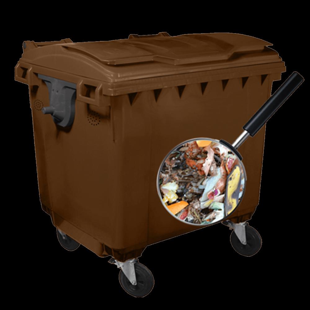 Plastični kontejner 1100l (za bio otpad)