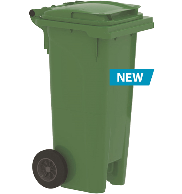 Waste bin with wheels 80l Urban