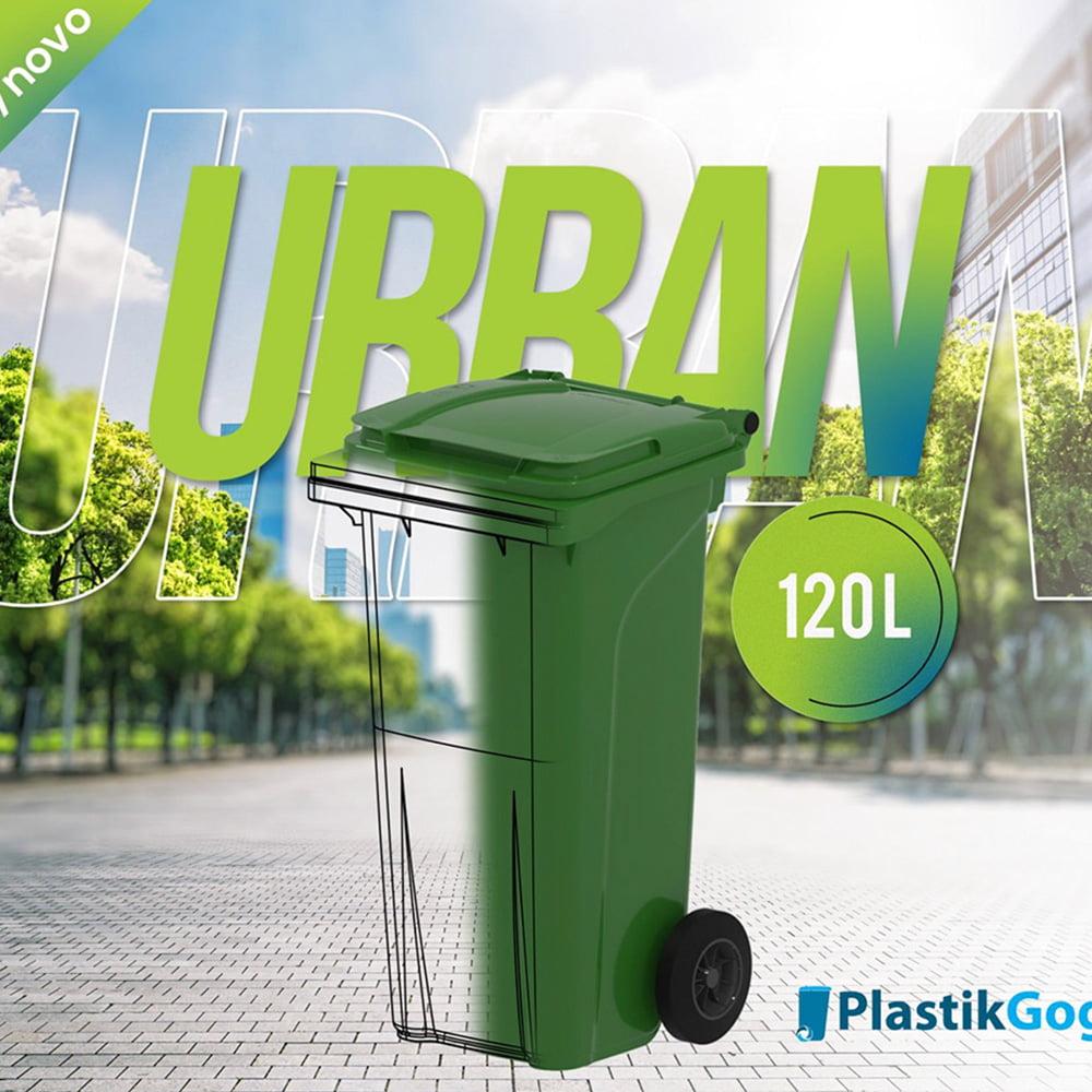120 l Urban bin