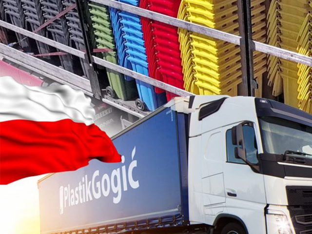 Delivery to Poland reached a record numbers.